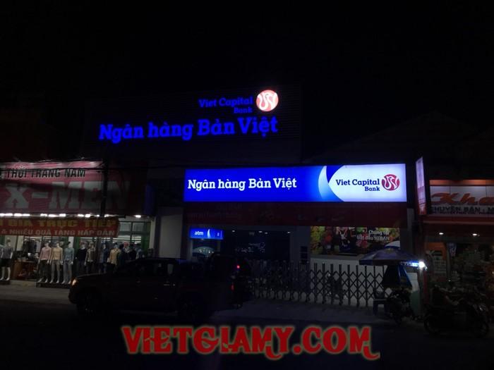 Thi công Ngân hàng Bản Việt CN Kiên Giang